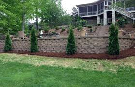 retainer walls landscaping