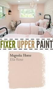 Shabby Chic Bedroom Paint Colors Fixer Upper Paint Color Ella Rose Perfect Color For A Little