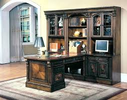 wall unit desk 8 piece peninsula desk wall unit in chestnut finish by house 8 wall wall unit desk