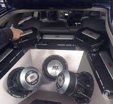 when to add capacitors to your car subwoofer system audio large subwoofer and amplifier system