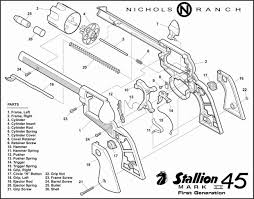Nichols stallion 45 mk ii cap guns and varieties of stallion cap pistols
