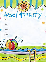 Free Pool Party Invitations Printable Pool Party Invitation Templates Free Printable Free Download