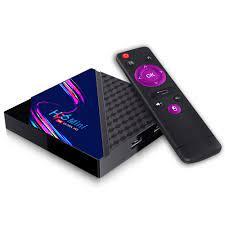 Tv box Rom 8G Ram 1G tìm kiếm bằng giọng nói android tv box xem phim 4K  chạy android10 bảo hành 1 năm H96miniV8 tivi box - Android TV Box, Smart Box
