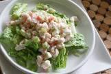 basic and simple shrimp salad