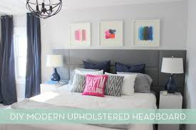 Full Size of Bedroom:diy Modern Headboard Amusing How To: Make A Modern Diy  ...