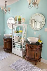 watery paint colorSherwinWilliams Watery Bathroom Makeover  Home Stories A to Z