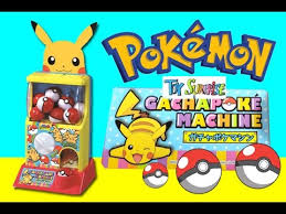 Pokemon Vending Machine Toys
