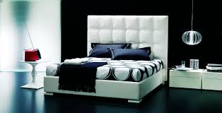 black and white modern furniture. White Modern Bedroom Sets Cabinet Design With Dark Navy Blue Cushions And Small Table Black Furniture