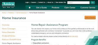 home insurance screenshot