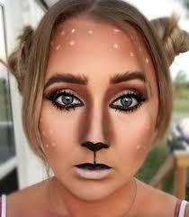 exclusive deer makeup for party