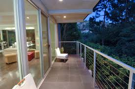 Small Patio Decorating Outdoor Small Patio With White Seats On Pebble Surrounded By