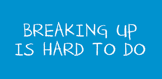 Image result for breaking up