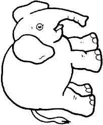 Elmer The Elephant Coloring Page Elmer The Elephant Coloring Pages