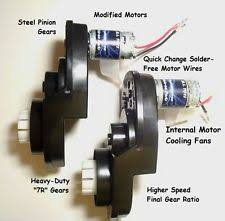power wheels motor toys & hobbies ebay Power Wheels Wiring Harness pair of power wheels gearboxes and motors for ford f 150 and raptor speed tuned power wheels wiring harnessg4626