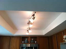 kitchen ceiling light fixtures track