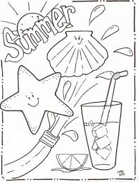 Summer Coloring Pages Clip Art Summer Coloring Pages Coloring