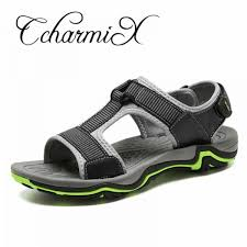 Buy <b>Mens Sandals</b> Genuine Leather 2018 <b>New</b> Summer <b>Men</b> ...