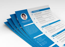 Free Psd Resume Cv Cover Letter Template For Ui And Ux Designer