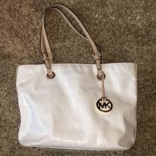 white patent leather jet set purse m 56e1dac9f6f9558b0095e0