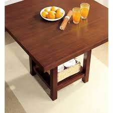 better homes and gardens dining table. better homes \u0026 gardens dalton park 5-piece counter height dining set, includes table and four chairs, mocha finish - walmart.com i
