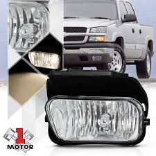 Details About Lh Driver Side Oe Replacement Fog Light Lamp For 02 07 Chevy Avalanche Silverado