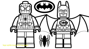 Lego Spiderman Coloring Pages With Lego Spiderman Vs Lego Shazam Vs