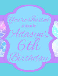 Girl Birthday Invitation Template Girl Party Invitation Template Postermywall