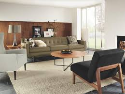 Midcentury Living Room Interior Appealing Living Room Sets Mid Century Living Room