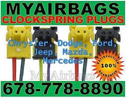 fits dodge ram 1500 airbag clockspring plugs wire connector new 4 fits dodge ram 1500 airbag clockspring plugs wire connector new 4 5