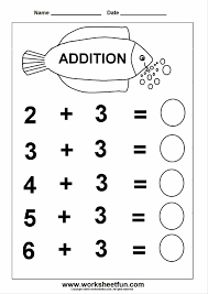 Kindergarten Free Kindergarten Math Worksheets Addition Printable ...
