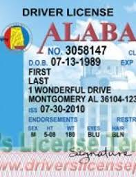 - Jpg Psd Alabama Drivers Fake Al License