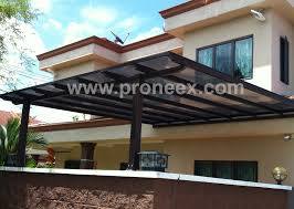 House Awning Design Malaysia Polycarbonate Roofing Awning Renof Gallery