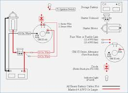 gm 1 wire alternator wiring diagram artechulate info 700R4 Speedometer Wiring e wire alternator wiring diagram with diode