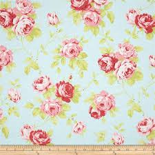 18 best shabby chic fabrics images on Pinterest | Shabby chic ... & Quilting fabric · Lulu Roses Lulu Sky Adamdwight.com