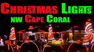 Christmas Lights In Cape Coral Christmas Light Display Nw Cape Coral Fl Dec 03 2019