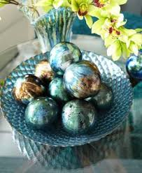 Decorative Sphere Balls Pier 100 Decorative Spheres Just the right colors for my new 60