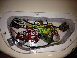 rewiring aria pro ii active p j bass as you can see it was very messy i believe the mini switch between the selector switch andd the op amp was originally a phase switch that had been rewired