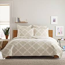 Real Simple® Bennett Quilt in Taupe/Ivory - Bed Bath & Beyond & Real Simple® Bennett Quilt in Taupe/Ivory Adamdwight.com