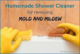 mold in shower mildew homemade cleaner
