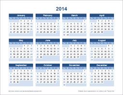 Small Picture 2014 Printable Calendar Year Printable Editable Blank Calendar 2017