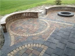 Outdoor Brick Paver Patio Designs Brick Patio Patterns Best Patio Paver Designs Home Design