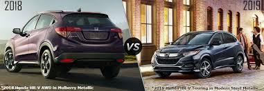 2018 Vs 2019 Honda Hr V Comparison Allan Nott Honda