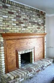 cleaning brick fireplace brick fireplace cleaner charming how to clean brick fireplace part 6 cleaning brick