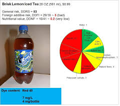 iced tea brisk or lipton lipton food reviews iced tea nutrition