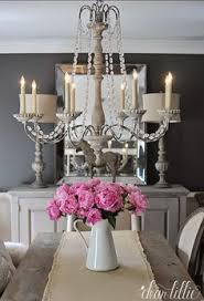 french farmhouse chandelier house of hargrove