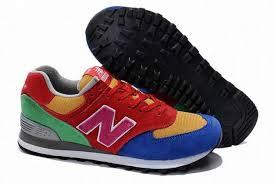 Yellow Blue Green Women New Balance Red Yellow Blue Green Us574w1 Shoes
