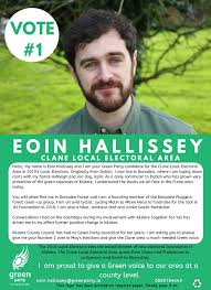 Green Party Flyer Green Party Irish Election Literature