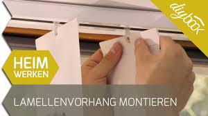 Vertikal Lamellenvorhang Montieren Vertikaljalousien Youtube