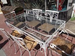 salterini wrought iron furniture. Salterini [1928-1953] Wrought Iron Outdoor Patio Furniture F635   Eric Berg\u0027s Early R