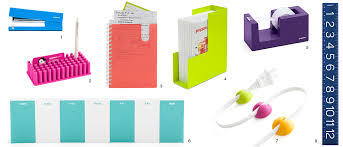 colorful office accessories. Desk Accessories For Photographers Colorful Office I